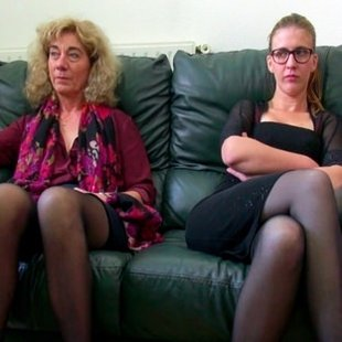 Aunt Isabella and niece Debbie are looking for two good dicks